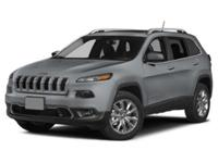 Take command of the road in the 2015 Jeep Cherokee! A