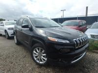 This 2015Jeep CHEROKEE Limited will sell fast!! SAVE