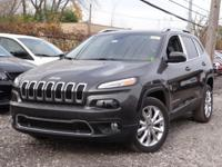 -Great Gas Mileage- This 2015 Jeep Cherokee Limited is