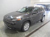 THE ALL NEW 2015 JEEP CHEROKEE LIMITED WITH NAVIGATION