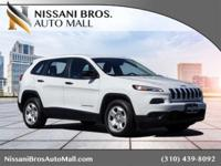 This 2015 Jeep Cherokee Sport SUV with ONLY 18,997