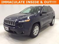 Options:  2015 Jeep Cherokee Latitude|Blue|**** 4X4
