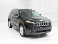 Options:  2015 Jeep Cherokee Latitude|Brilliant Black
