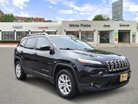 Latitude trim. CARFAX 1-Owner, Jeep Certified, ONLY