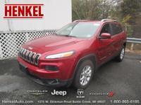 Options:  2015 Jeep Cherokee Latitude|Burgundy|There Is