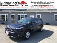 You are looking at a clean 2015 Jeep Cherokee Latitude.