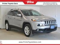CARFAX One-Owner! 2015 Jeep Cherokee Latitude in Billet