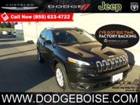 2015 Jeep Cherokee Latitude 4WD FACTORY CERTIFIEDOnly