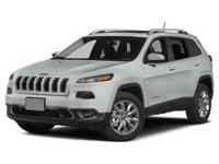 2015 Jeep Cherokee Latitude 4X4, V6, Heated Seats,