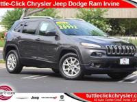 New Arrival! This 2015 Jeep Cherokee LATITUDE, has a