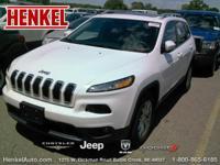 Options:  2015 Jeep Cherokee Latitude|Bright White