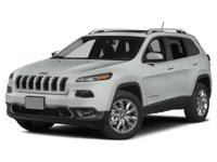 Take command of the road in the 2015 Jeep Cherokee!