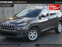 This 2015 Jeep Cherokee 4dr CHEROKEE LATITUDE features