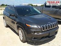 Gray 2015 Jeep Cherokee Latitude FWD 9-Speed 948TE
