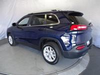 Options:  2015 Jeep Cherokee Latitude 2Wd|True Blue/|V6