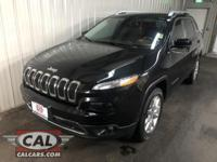 Options:  2015 Jeep Cherokee 4Wd 4Dr Limited|4 Cylinder