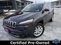 Options:  2015 Jeep Cherokee Limited|Gray|New