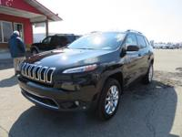 Options:  2015 Jeep Cherokee Navigation! Moonroof! Our