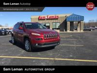 2015 Jeep Cherokee Limited in Cherry Red vehicle