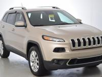 Recent Arrival! Jeep Cherokee Limited Odometer is 18987