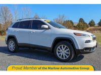 New Price! 2015 Jeep Cherokee Limited Bright White