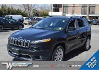 CERTIFIED PRE-OWNED 2015 JEEP CHEROKEE LIMITED! CLEAN