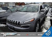 CERTIFIED PRE-OWNED, CLEAN CARFAX, ONE OWNER! 2015 JEEP