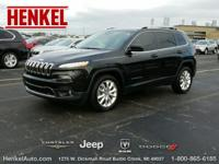 Options:  2015 Jeep Cherokee Limited|Black|3.2L