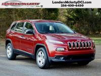 Climb inside the 2015 Jeep Cherokee! It comes equipped
