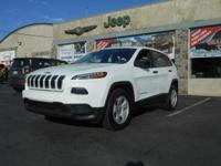 Climb inside the 2015 Jeep Cherokee! A great vehicle