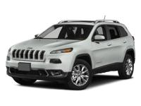 **HARD TO FIND** 2015 Jeep Cherokee Sport 4X4 with only