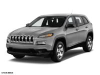 Don't miss out on this 2015 Jeep Cherokee Sport! It