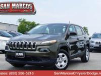 Delivers 31 Highway MPG and 22 City MPG! This Jeep
