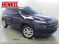 Options:  2015 Jeep Cherokee Sport|True Blue