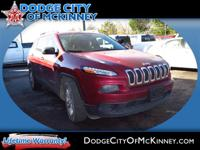 Take command of the road in the 2015 Jeep Cherokee! It