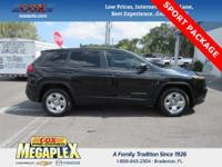 This 2015 Jeep Cherokee Sport in Black is well equipped