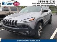 LOW MILEAGE 2015 JEEP CHEROKEE TRAILHAWK 4WD**CLEAN CAR