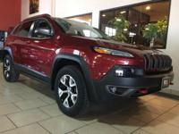 Check out this gently-used 2015 Jeep Cherokee we