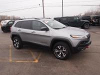 Options:  2015 Jeep Cherokee Trailhawk|Silver|Call