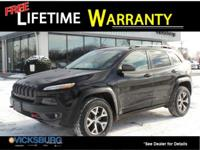 Options:  2015 Jeep Cherokee Trailhawk|Black|26/19
