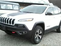 V6 4x4 and all the options!  This one owner, 2015 Jeep