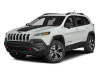 New Arrival! This 2015 Jeep Cherokee Trailhawk will