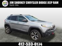2015 Jeep Cherokee Trailhawk New Price! Certified.