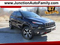 Beautiful Trailhawk 4x4 adds heated seats and heated