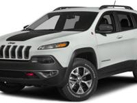 2015 Jeep Cherokee Trailhawk For Sale.Features:Black