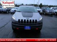 Come see this 2015 Jeep Cherokee Trailhawk. It has a