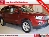 2015 Jeep Compass High Altitude Red Bluetooth, Hands