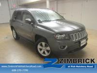 Options:  2015 Jeep Compass 4Wd 4Dr High Altitude