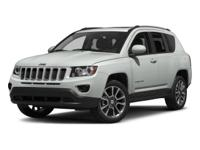 Silver 2015 Jeep Compass Latitude 4WD 6-Speed 2.4L I4