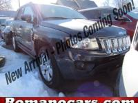 Take command of the road in the 2015 Jeep Compass! It